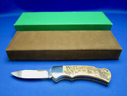 4 Star 715 Arno Hopp Limited Edition Knife 074/300 Made In Solingen Germany