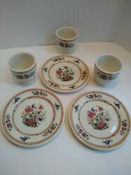 Syracuse China Restaurant Ware Sy423 - Old Ivory - Egg Cups Bread Plates 6pcs.