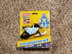 Imaginext Artic Batman With Snowmobile Fisher-price New