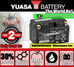 Maintenance Free Battery Ytz10s Yuasa Filled And Charged For Suzuki Scooters