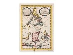 Philippines Celebes Moluccas Islands By Bellin 1764