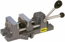 Heinrich Quick Release Horizontal Drill Press Vise, 6-3/16 Jaw Opening