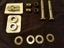 King Pin Kit For 1937-1941 Ford Car Front Spindles Polished Stainless