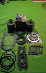 503 Rotax Aircraft Engine Piston Top End Rebuild Kit Std W Bearings And Gaskets