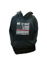 Thin Red Line Sweatshirt We Serve So That Others May Live