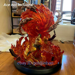 One Piece Fire Stand Fit For Portgas·d·ace Resin Model Big Fire Fist Jacksdo