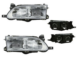 For Headlight Lamp 1993 - 1997 Corolla With Bulb Pair Side To2503107 To2502107