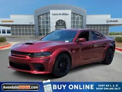 2020 Dodge Charger Scat Pack Widebody 2020 Dodge Charger Scat Pack Widebody 5 Miles Octane Red Pearlcoat 4dr Car Premi