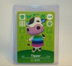 Animal Crossing Series 2, Tipper 129 Amiibo Card, Mint Unscanned, Nintendo