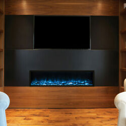 Modern Flames Landscape Series Pro Slim Electric Fireplace, 80-inch, Wall Contro