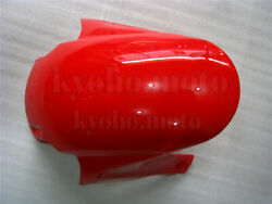Front Fender Mudguard Fairing For Honda Cbr 600 Rr 2005-2006 F5 Injection Red Ac