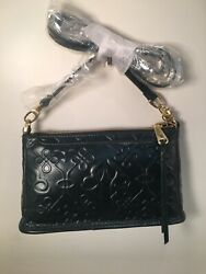 HOBO Bags Leather Cadence Embossed EVERGREEN Crossbody Purse Handbag NWT $85.49