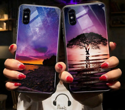 For Samsung Galaxy S10 Plus S10e Cover Hard Phone Cases Starry Sky Pattern