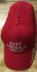 12 President Donald Trump Keep America Great Again Caps Cotton/ Embroidered