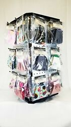 Wholesale Face Masks, 60 Pc W/display, Cotton, Elastic, Filter Pocket, Nose Wire