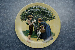 Easter Edwin M. Knowles Limited Edition Collectors Plate Ms31