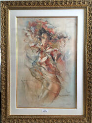 Gary Benfield Tenderness Limited Edition Seriolitograph 679/750 Framed