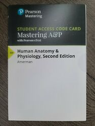 Mastering Aandp - Access Card - Human Anatomy And Physiology 2nd Edition
