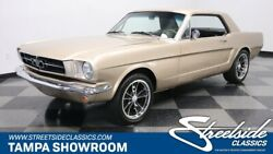 1965 Ford Mustang Coupe FRESH 302 V8 4 SPEED MANUAL BUCKETS & CONSOLE NICE PAINT & INTERIOR AC KIT