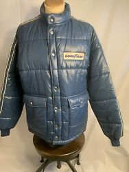 Vintage Swingster Goodyear Insulated Puffer Jacket Men Size Large