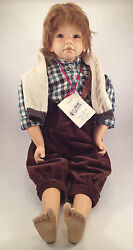 Steiff 705021, Doll Michael , From Pink Adami, Limited Series, New, Boxed