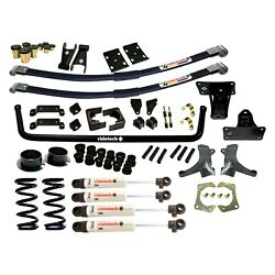 For Chevy C10 75-86 2 X 2 Streetgrip Front And Rear Handling Lowering Kit