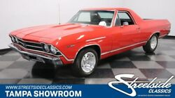 1969 Chevrolet El Camino  NUMBERS MATCHING 350 V8 TH350 PS PB FACTORY AC NICE PAINT AND INTERIOR