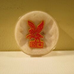 New Very Rare Kentucky Derby 101st Pegasus Festival Pin 1975 Mint Condition