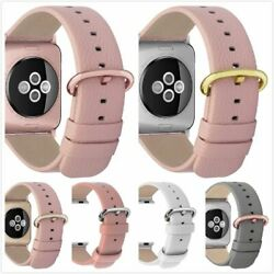 Women Apple Watch Band Strap 38mm 42mm Leather 3 Buckles Iwatch Series 3and2and1