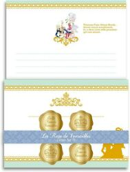 Rose Of Versailles Lady Oscar Letter Writing Stationary Set Green Japan Cosplay