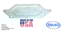 65-73 Ford Mustang A/t Inspection Plate C4 V8 The Only Brand Made In The Usa