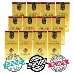 Organo Gold Gourmet Cafe Latte With Ganoderma Lucidum Coffee- Free Shipping
