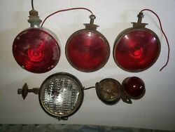 Antique Car Auto And Tractor Lights And Parts - Make Offer • Rare ☆usa John Deere