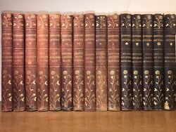 Leather Travel Books Leatherbound 1905 Complete 15 Volumes California Grand Cany