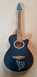 Hank Williams Iii Jansen Guitar - Hand Signed Autographed And Played By Iii Hwg