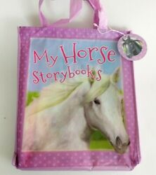 My Horse Story Books For Miles Kelly 8 Books with Carry Bag. New Free Shipping