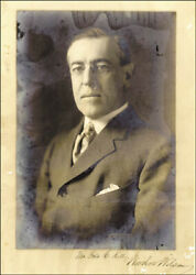 Woodrow Wilson - Inscribed Photograph Signed