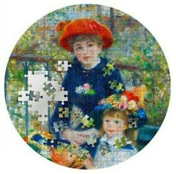 2020 3 Oz Silver 20 Palau Two Sisters Renoir Micropuzzle Treasures Coin.