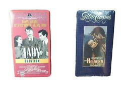 The Lady In Question,the Heiress Vhs Lot- Sealed New- Rita Hayworth
