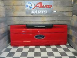 2019 Ford F250sd Pickup Tailgate Lid Red Electric Handle