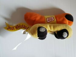 Oscar Mayer The Bean Bag Toy Plush Dog On Wheels Collectiblepromotional Item