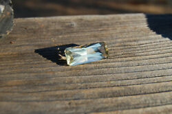 Oregon Sunstone 23.30ct Butterfly Cut Yellow Bright And Flashy Made In Usa