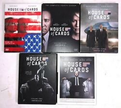 House Of Cards Season 1 2 3 4 5 Lot Sale 20-dvd Set Season 5