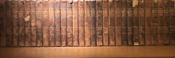 Leather Setencyclopedia Britannica 11th Edition1911complete 29voldamaged