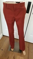 Gucci Women's Wool Blend Mid-Rise Flare Leg Trousers Size Euro 40 $55.00
