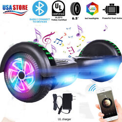 Us Hoover Board Hoverboard Electric Balancing Bluetooth Scooter Nobag Black New