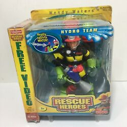 Rescue Heroes Hydro Team Wendy Waters 2002 W/ Mission Video New Sealed 78375