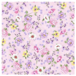 Somerset: Garden Variety Pink Michael Miller Sold By the Yard $12.25