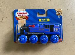 Fisher-price Thomas And Friends Wooden Railway - Belle - Rare - New And Unopened