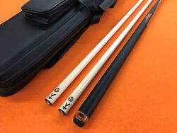 Predator Carom Cue Aurum 2 With Two Vantage Shafts And Top Notch Case.